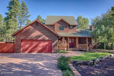 Pinetop Single Family Home For Sale: 536 E Oak Meadow Lane Lane