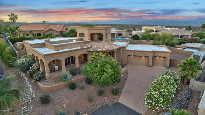 Fountain Hills Single Family Home For Sale: 16383 N Dryad Place