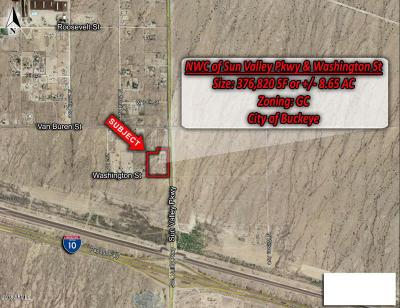 Buckeye Residential Lots & Land For Sale: 116 N Palo Verde Avenue