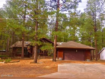 Pinetop Single Family Home For Sale: 8426 Eagle Point Road