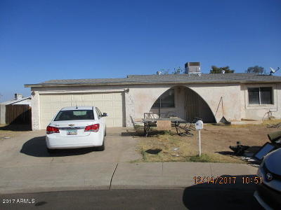 Glendale Single Family Home UCB (Under Contract-Backups): 5607 N 69th Lane