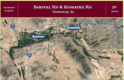 Goodyear Residential Lots & Land For Sale: Xxxx W Komatke Road