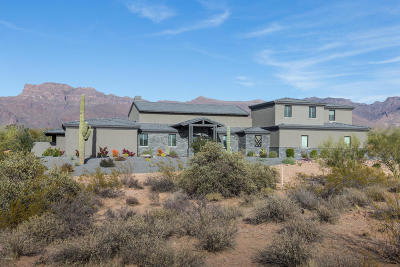 El Mirador At Superstition Mountain Single Family Home For Sale: 3445 S Miners Creek Lane