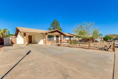 Single Family Home For Sale: 126 E McLellan Road