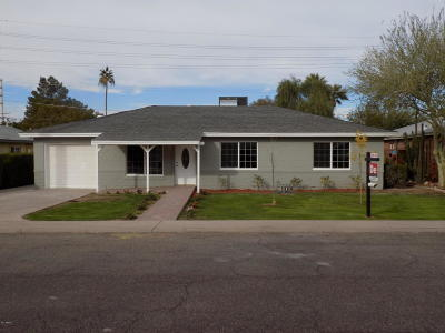 Phoenix Single Family Home For Sale: 2508 E Roma Avenue