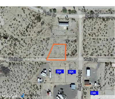 Salome Residential Lots & Land For Sale: 67261 Wells Drive