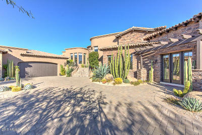 Scottsdale Single Family Home For Sale: 10028 E Mirabel Club Drive