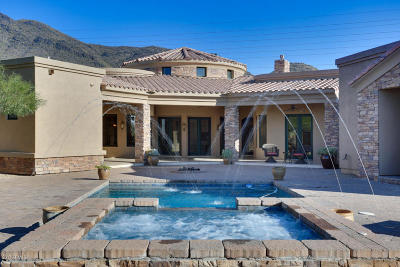 Cave Creek Single Family Home For Sale: 5727 E Canyon Ridge North Drive