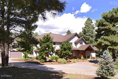 Flagstaff Single Family Home For Sale: 7050 N Oakwood Pines Drive