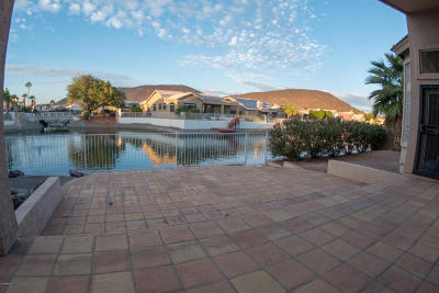 Glendale Single Family Home UCB (Under Contract-Backups): 5586 W Rose Garden Lane