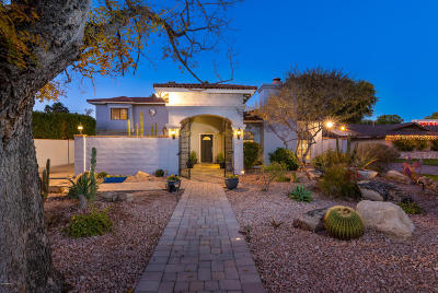 Single Family Home For Sale: 602 W Ocotillo Road