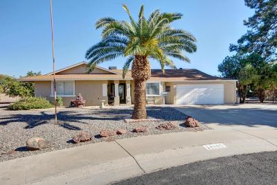 Sun City Single Family Home UCB (Under Contract-Backups): 14805 N Bolivar Drive