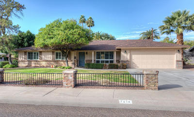 Phoenix Single Family Home For Sale: 7518 N 6th Place