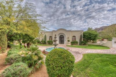 Paradise Valley Single Family Home For Sale: 4900 E Desert Fairways Drive