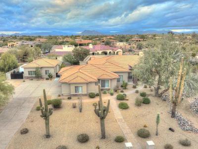 Scottsdale Single Family Home For Sale: 6350 E Monterra Way
