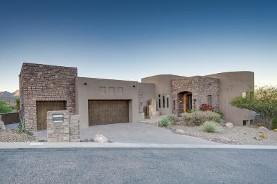 Fountain Hills Single Family Home For Sale: 15424 E Sundown Drive