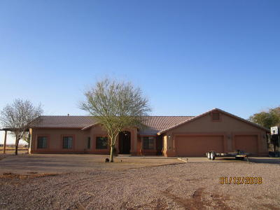 Casa Grande Single Family Home For Sale: 3606 S Peart Road