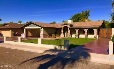 Scottsdale Single Family Home For Sale: 8208 E Montebello Avenue