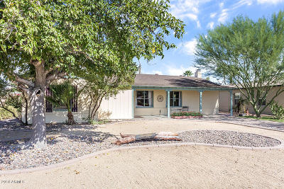 Phoenix Single Family Home For Sale: 1624 W Earll Drive