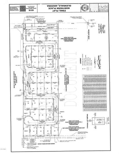 Glendale Residential Lots & Land For Sale: 8605 W Northern Avenue