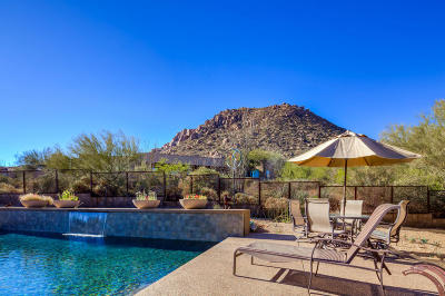 Scottsdale Single Family Home For Sale: 11341 E Troon Mountain Drive