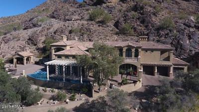 Paradise Valley Single Family Home For Sale: 5317 E Desert Vista Road
