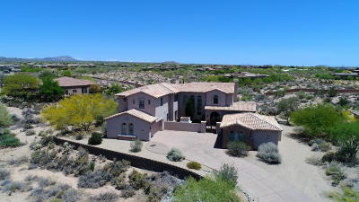 Scottsdale Single Family Home For Sale: 9849 E Granite Peak Trail