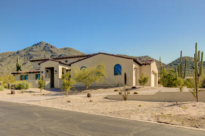 Cave Creek Single Family Home For Sale: 5815 E Sentinel Rock Road