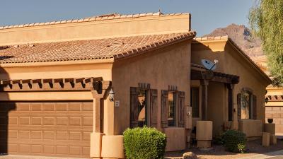 Toscano Villas Rental For Rent: 5370 S Desert Dawn Drive #22