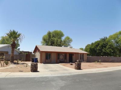 Tempe AZ Single Family Home For Sale: $210,000