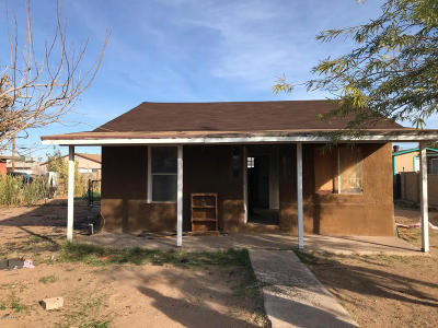 Coolidge Single Family Home For Sale: 840 W Dewey Avenue