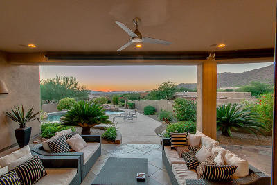 Scottsdale Single Family Home For Sale: 11824 E Desert Trail Road
