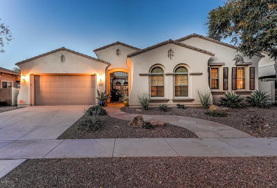 Gilbert Single Family Home UCB (Under Contract-Backups): 4310 E Santa Fe Lane