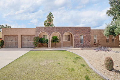 Scottsdale Single Family Home UCB (Under Contract-Backups): 6529 E Sharon Drive