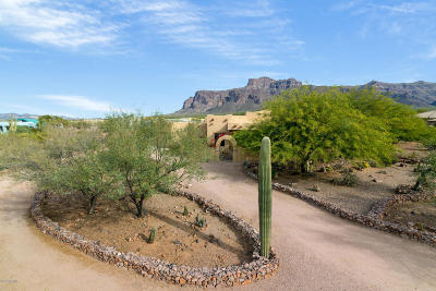Apache Junction Single Family Home For Sale: 6444 E Sidewinder Lane