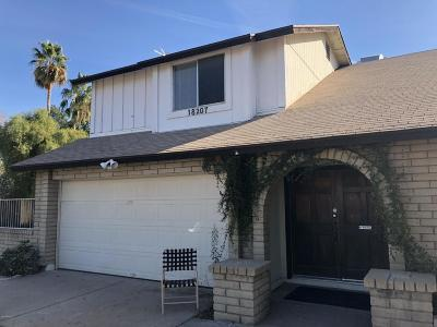 Glendale Single Family Home For Sale: 18207 N 46th Drive