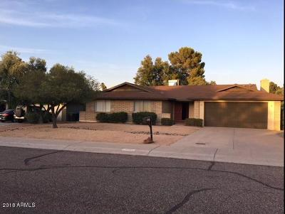 Phoenix Single Family Home For Sale: 10601 N 35th Street