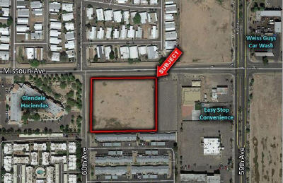Glendale Residential Lots & Land For Sale: 5939 W Missouri Avenue