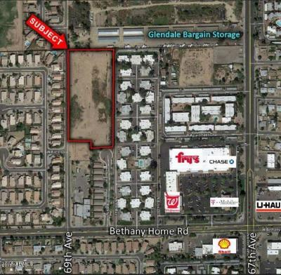 Glendale Residential Lots & Land For Sale: Xxxx N Bethany Home Road