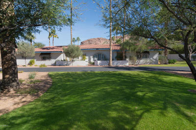 Phoenix Single Family Home For Sale: 4540 E Camelback Road