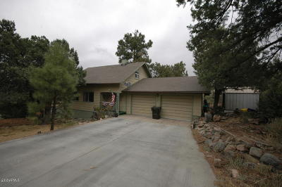 Prescott Single Family Home For Sale: 1343 E Pine Ridge Drive