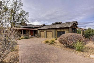 Prescott Single Family Home For Sale: 14850 N Jay Morrish Drive