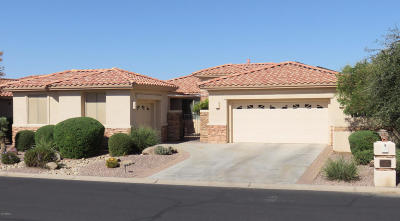 Sun Lakes Single Family Home For Sale: 10030 E Diamond Drive