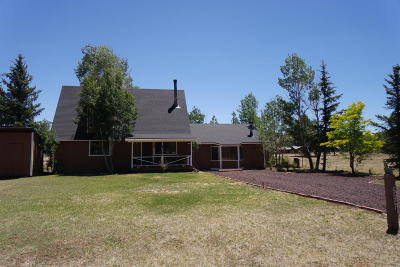Pinetop Single Family Home For Sale: 537 N Skylane Road