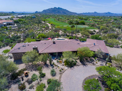 Carefree AZ Single Family Home For Sale: $1,199,000