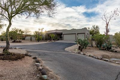 Cave Creek Single Family Home For Sale: 6011 E Rancho Del Oro Dr