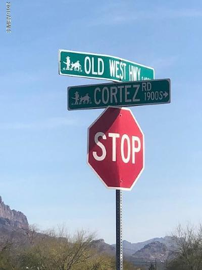 Apache Junction Residential Lots & Land For Sale: E (Approx) Old West Highway