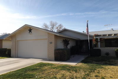 Sun City West Gemini/Twin Home For Sale: 12851 W Peach Blossom Drive