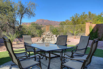 Gold Canyon Single Family Home For Sale: 6960 E Hacienda La Noria Lane
