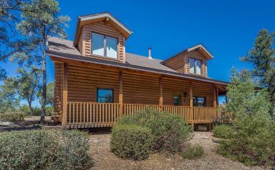 Prescott Single Family Home For Sale: 13868 N Grey Bears Trail